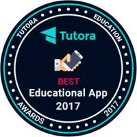 Tutora - Best-Education-Apps-Badge image